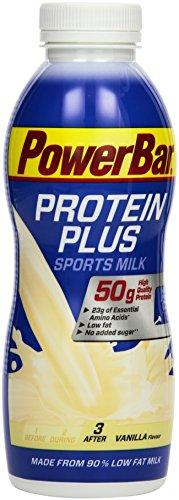 PowerBar ProteinPlus Sportsmilk Vanille, 12er Pack (12 x 500ml)