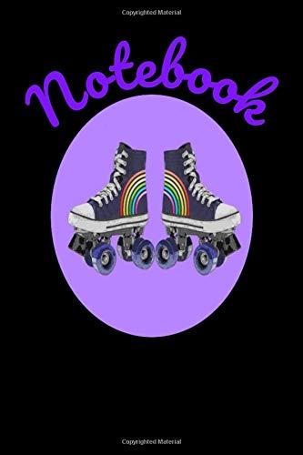 Notebook: Retro Roller Skating Homework Book Composition and Journal Diary por Retrosun Designs