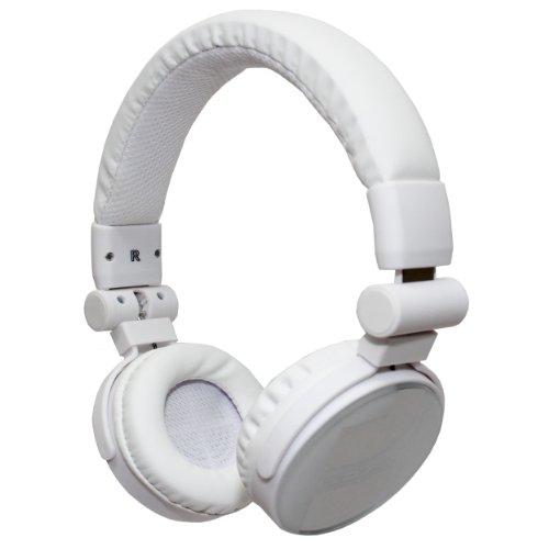 XX.Y i3_WHITE Dj Style Stereo Kopfhörer für ultimative Klang weiß/matt