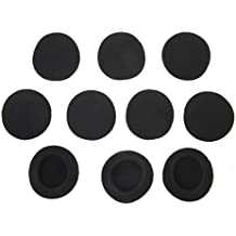 Almohadillas - TOOGOO(R)5 pares de almohadillas negras para los auriculares de Koss Porta Pro PX100