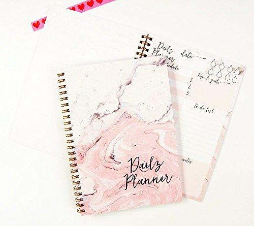 daily-planner-notebook-spiral-notebook-a5-marble-notebook-to-do-list-notebook-undated-planner-50-she