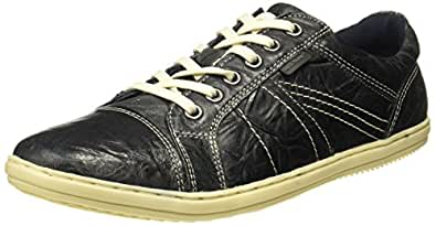 Red Tape Men's Grey Leather Sneakers-10 UK/India (44 EU) (RTE0258A)
