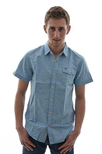 Camicia a maniche corte, Hilfiger Denim shirt nouri s/s, colore: blu blu Medium