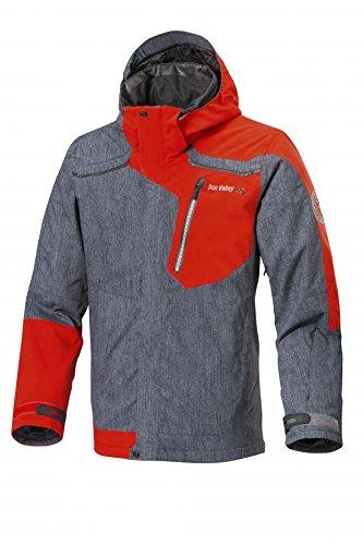 Sun Valley Reviver Skijacke (blaugrau/rot), XL