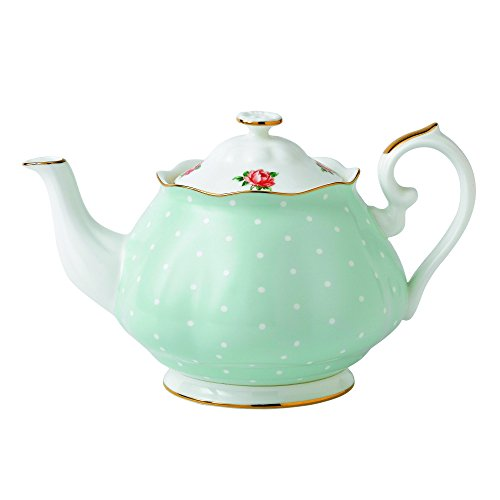Royal Albert Polka Rose Vintage Teekanne 1,25 l