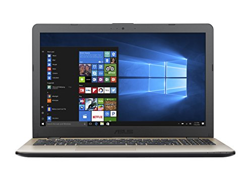 "Asus VivoBook Notebook, 15.6""HD, Intel Core i7-7500U, RAM 4 GB, HDD da 500 GB, NVidia GT930MX [Layout Italiano]"