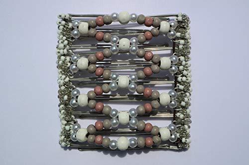 The Amazing un clip à 9 branches Environ 10 cm en acier inoxydable Peigne