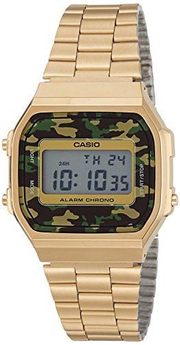 Casio Unisexe Watch Vintage montre A168WEGC-3D