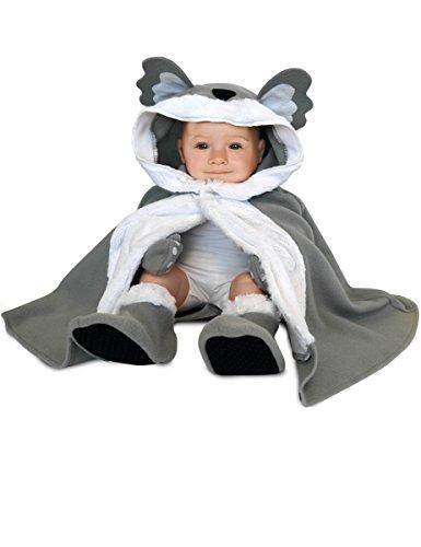 Rubie's Rubies-154680-Kostüm für Babys-Cape, Hut, Handschuhe und Hausschuhe-Koala-Einheitsgröße
