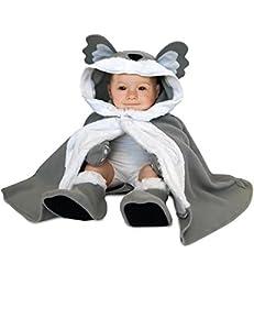 Rubies-Disfraz para bebé con capa, sombrero, guantes y calcetines, diseño koala, talla única, ref. 154680