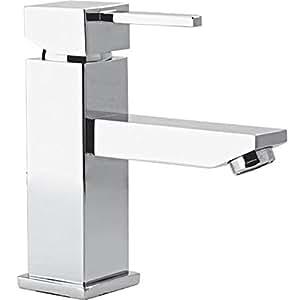 Autre - Mitigeur de lavabo design moderne Robinet de vasque carée chromé