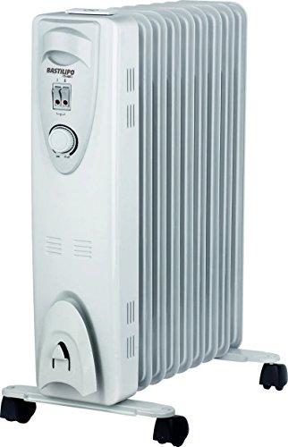 Bastilipo RAC9-2000 Radiador de fluido 2000 W, Otro, Blanco