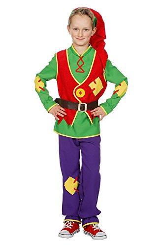 Jannes - Kostüm Zwerg Jungen mit Mütze 140
