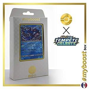 Kyogre 46/168 Holo Reverse - #myboost X Soleil & Lune 7 Tempête Céleste - Box de 10 Cartas Pokémon Francés
