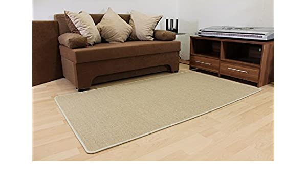 Ronja Sisal Look Indoor And Outdoor Rug Cream Beige Beige 160 X