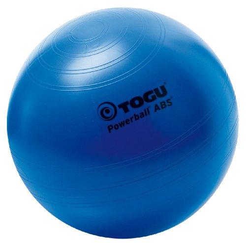 Togu Powerball Abs Ballon d'exercice Bleu 55 cm