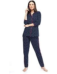 ZEYO Women's Cotton Night Suit
