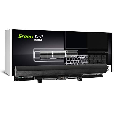 GC® PRO Serie Laptop Akku für Toshiba Satellite L50-B-1FP L50-B-1FQ L50-B-1FU L50-B-1GC (Samsung SDI Zellen 2600mAh 14.4V Schwarz) -