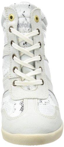 Pantofola d'Oro - Macerata Mid Ladies, Sneaker Donna Bianco (Weiß (Bright White))