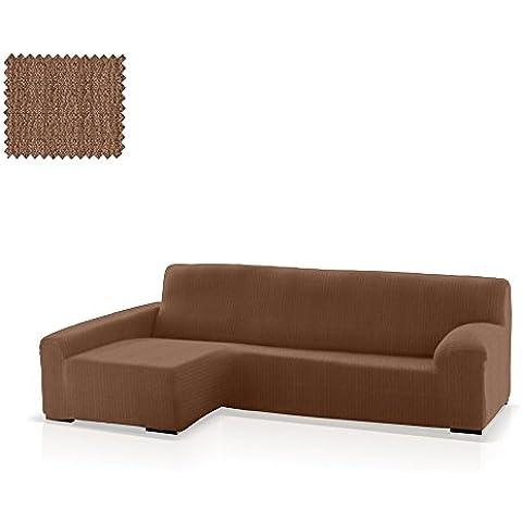 Funda de sofá Chaise Longue Bastet, Brazo Izquierdo, tamaño estándar (220-280 Cm.), Color 07 (varios colores
