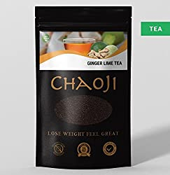 Chaoji Ginger & Lime Green Tea - Natural Detox Chaoji Tea - Detox Natural Lime Tea- Energy Boost Natural Tea - Protein Enrichen Tea – Perfect For Detoxification & Losing Weight (1)