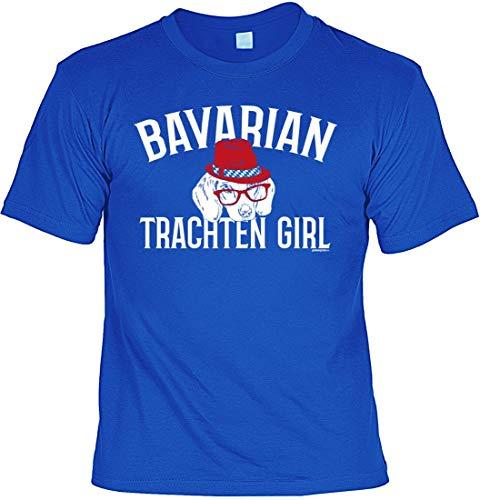 Wiesn T-Shirt für Bayerische Damen - Bavarian Trachten Girl - Unisex Shirt als Outfit zum Oktoberfest, Größe:4XL