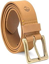 Amazon.it  cintura in pelle - Timberland  Abbigliamento 589b55de52a
