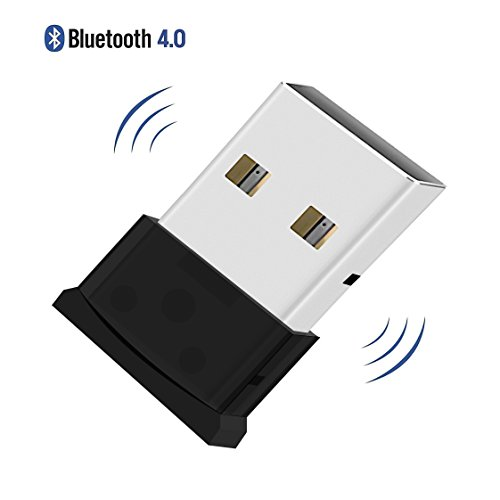 QueenDer Bluetooth Adapter, USB 4.0 Nano Dongle Bluetooth Transmitter Wireless Receiver Adapter for PC Laptop Desktop, Key Board, Mouse, Headset, Printers Windows 8/7/Vista Plug & Play on Windows10