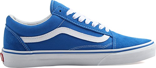 Vans Herren Old Skool Plateau (suede/canvas) Imperial Blue/true White