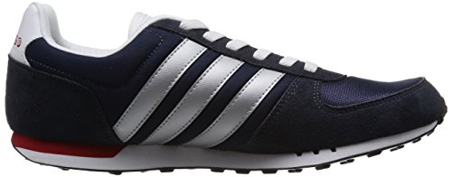 Adidas F38446, Chaussures de Running Homme Multicolore (Nny/Msilve/Powred)