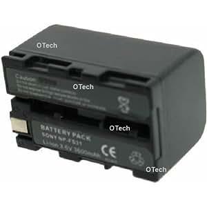 Otech C033HA Batterie pour Caméscope de type Sony NP-FS21 3,6 V