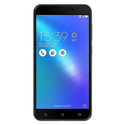 华硕ZenFone 3 Max ZC553KL-4H020WW双卡智能手机,14 cm,(5.5 Zoll)1.4 GHz Octa Core,32 GB,3 GB RAM,灰色