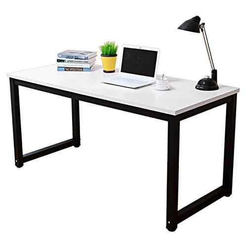Preisvergleich Produktbild Familien Büro Tisch Desk Corner Computer PC Schreibtisch Esstisch Computertisch fuer Studenten Familien Arbeiter Lehrer Alles Praktisch (Weiß)