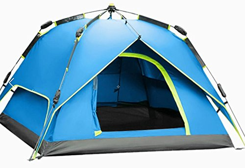 WETOO Tenda da Campeggio Famiglie 3-4 Persone Automatica Anti UV Impermeabile Portatile...