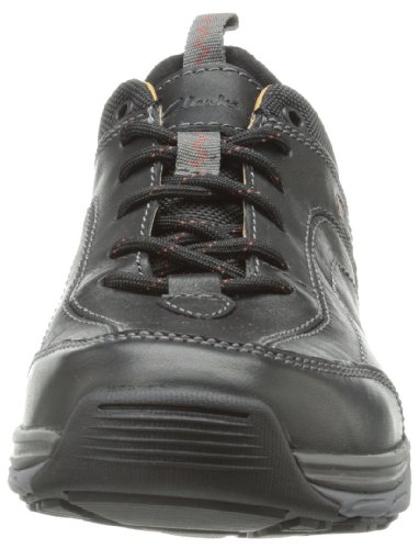 Clarks Vibe Sneaker Skyward Black Leather