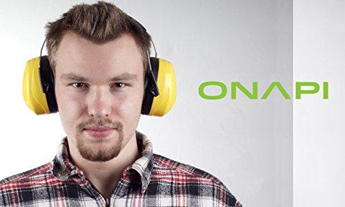 Gehörschutz, Größe stufenlos verstellbar, geeignet für jede Altersklasse, extra weiche Polster, große Ohrcups, ideal für handwerkliche Arbeiten, zum Lernen bei lauter Umgebung und vielem mehr - 5