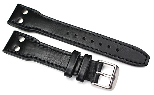 20mm Leather Watch Band Aviator Aviator Style nastro adesivo ad alta...