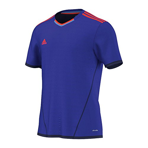 adidas Performance Herren Funktionsshirt blau L (Climalite T-shirt Performance)