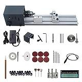 SEAAN Mini macchina per lucidare perline per tornio, Baugger-Lucidatrice Set di utensili rotanti fai-da-te per la lavorazione del legno (set di rettifica di lusso)