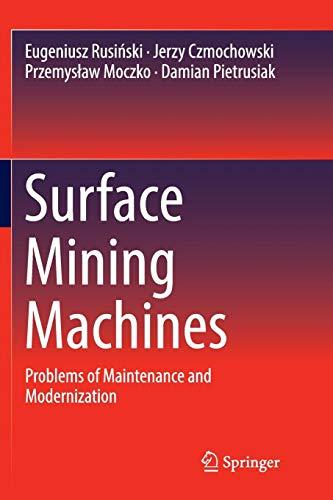 Surface Mining Machines: Problems of Maintenance and Modernization - Spreader-motor
