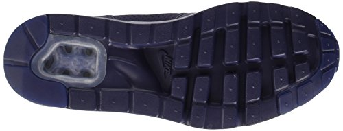 Nike Air Max 1 Ultra Moire, Chaussures de Sport Homme bleu (Midnight Navy/Mid Navy-Blk)