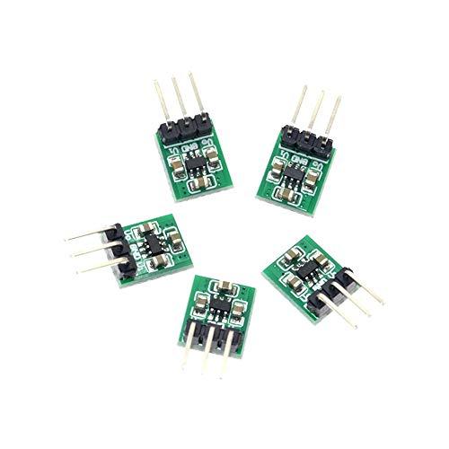 Charge Pump Converter (5 Stück Mini 1,8 V 3 V 3,7 V 5 V auf 3,3 V Boost Buck Low Noise Regulated Charge Pump 2 in 1 DC/DC Converter)