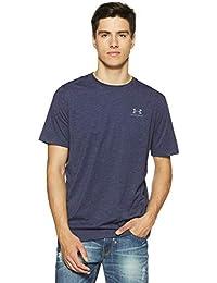 Under Armour Charged Cotton Left Chest Lockup Men's Round Neck Cotton T-Shirt