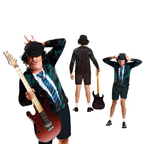 viving Kostüme viving costumes230068Angus Boy Full Sleeve T-Shirt (X-Large) (Country Boy Kostüm)