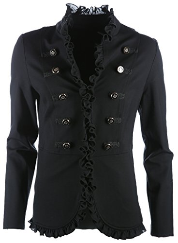Joseph Ribkoff Women's Reefer Suit Jacket black black