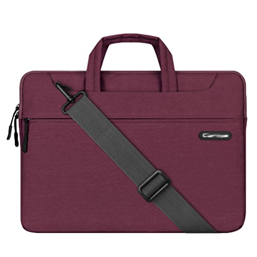 YiJee épaule Laptop Sleeve Sac Porte-documents, Carry Case pour Ordinateur Portable