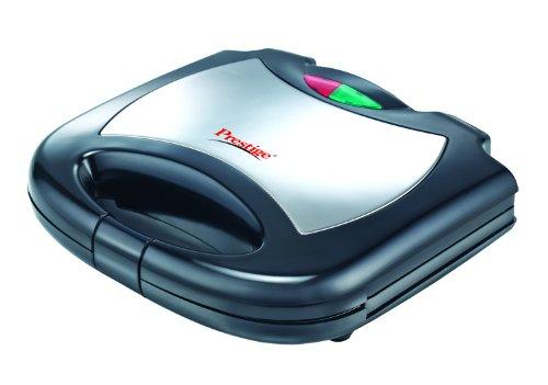 Prestige PCMFS 800-Watt Sandwich Toaster (Black/Silver)
