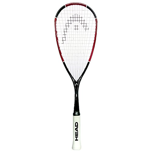 Racket Head Nano Ti110 Squash, Rouge, Taille Unique
