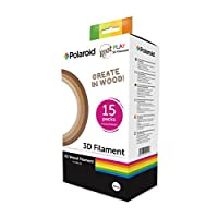 Polaroid 3D PLA Root Play Wood Filament Pack - Three wood colors 15 x 5m - 1.75mm diameter