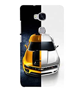EPICCASE Chev bumblebee Mobile Back Case Cover For Huawei Honor 5X (Designer Case)